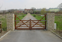 5 Bar Wooden Swing Gates